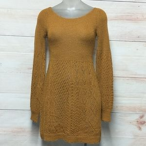 Knitted & knotted Alpaca Dress/Tunic Sweater